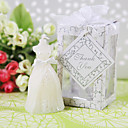 Elegant Wedding Gown Candle Favors(set of 4)