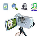 HD 720P@30FPS 5MP CMOS 8XDigital Zoom Digital Video Camera with 3.0&quot; LCD Screen MP3 PC Camera Function (HD-668)