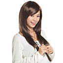 Capless Long Top Grade Quality Synthetic Golden Brown Straight Hair Wig