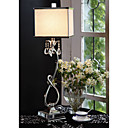 Contemporary Table Light With Fabric Lampshade (1069-GC-0171)