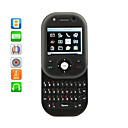 Dual SIM Twist Slide Unlocked Cell Phone With QWERTY Keypad + TV (Black)