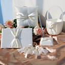 Classic Wedding Collection Set in Ivory Satin (5 Pieces)