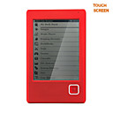 E-Book Reader with 6 Inch E-Ink Touch Screen (4GB)