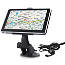 Car GPS Navigator + Wireless Rearview Camera + 6 Inch Touchscreen + FM + Bluetooth + AVIN