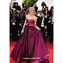 Taffeta Ball Gown Sweetheart Sweep Train Evening Dress inspired by Hofit Golan at Cannes Film Festival