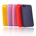 Silicone Protective Case for iPhone4 (5 Pack, Random Colors)