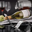 Stylish Wave Stainless Steel Wine Bottle Holder