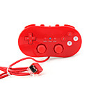 Game Classic Control for Nintendo Wii Red