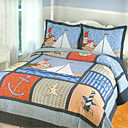 Sailing 2pc kids bedspread set
