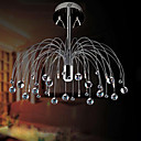 Contemporary Chrome Finish Crystal Chandelier with 10 lights (K9 Crystal)
