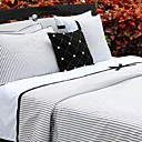 Delanc 5-piece Queen Duvet Cover Set (Light Grey)