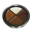 Natural Finish Concealer Makeup Palette NO.3 (4 Colors)