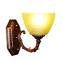 Upward 1-light Glass Wall Sconce