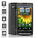 x10 - dual sim 3,8 pollici touch screen telefono cellulare (wifi fotocamera tv duale)