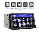 7 Inch Digital Touchscreen 2Din Car DVD Player with TV Bluetooth RDS