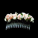 Lovely Foam Flower Wedding Flower Girl Combs/ Headpiece