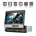7 Inch 1Din Car DVD Player with GPS Bluetooth RDS TV