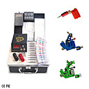 Professional Tattoo Kit With 3 Guns of Different Style and LCD Power Supply