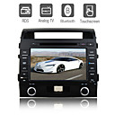 8 inch Digital Touch Screen Car DVD Player-TV-FM-Bluetooth For Toyota Land Cruiser 2009
