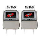 9 Inch Car DVD Player with FM Transmitter Game Free Headphones (1 Pair)