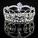 bela noiva casamento strass tiara de liga / headpiece