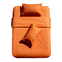 200 Thread Count Cotton Mini-Twin/Full/Queen-size Duvet Cover Set (Orange)