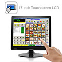 17-pollici touchscreen display lcd con vga per pos e casa