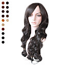 Capless Long Natural Black Curly Hair Wig Multiple Colors Available