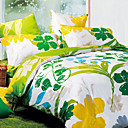 Mint 4-piece Queen-size Duvet Cover Set