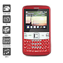 Dual SIM 2.2 Inch Qwerty Keyboard Cell Phone (Quadband, TV, MP3 MP4 Player)