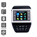 ET - 1.4 Inch Watch Cell Phone Black (FM, MP3 MP4 Player)