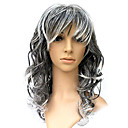Capless Long Synthetic Curly Costume Party Wig