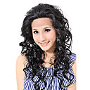 Lace Front High Quality Kanekalon Fashion Long Curly Wig