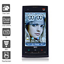 X10 - Cellulare Doppia SIM,  Schermo 3.2&quot;,  Wi-Fi,  Doppia Fotocamera,  Funzione TV