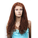 "Full Lace With Stretch On Crown Fashion Curly 22"" Indian Remy Hair 26 Colors To Choose"