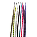 15.35 Inch 8 Colors Synthetic Feather Hair Extensions