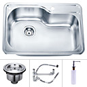 26 inch Undermount Stainless Steel Kitchen Sink (Single Bowl)