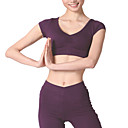 Dancewear Modal Practice Short Sleeve Yoga&amp;Dance Sneakers Top For Ladies
