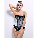 Satin Strapless Front Busk Closure Corsets Wedding Shapewear More Colors Available