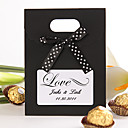 "Personalized ""Love"" Favor Bag With Ribbon –  Set of 12 (More Colors)"