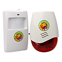 80 Meters Wireless Infrared Motion Doorbell Alarm