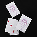 Personalized Playing Cards - Lilac Heart Tree