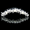 Gorgeous Alloy With Cubic Zirconia Wedding Tiara