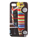 Protective Colorful Hard Case for iPhone 4 / 4S (Car)