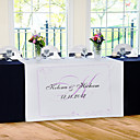 Personalize Reception Desk Table Runner - Simple Style
