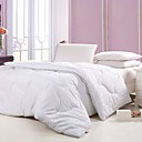 White Solid Full/Queen-size Down Alternative