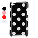 Protective Spots Pattern Case for iPod Touch 4