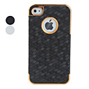 Protective Polycarbonate Case for iPhone 4 and iPhone 4S (Grid, Assorted Colors)
