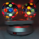 Rotating Stage light with 2 Lights in Ball Color Cap