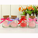 Small Wishing Bottle With Ribbon Bow Favor Holder (Set of 12)